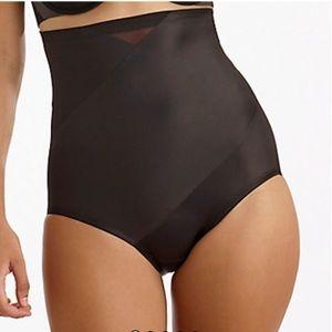 TC Fine Intimates Black Tummy Tux High Waist Panty